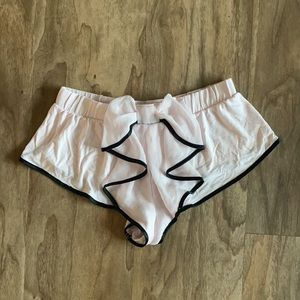 Victoria's Secret Ruffle Booty PJ Shorts